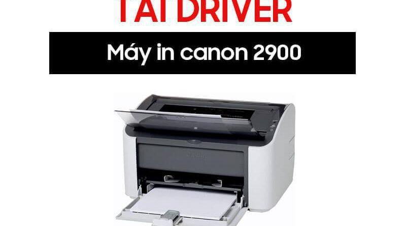 Tải Driver Canon LBP 2900